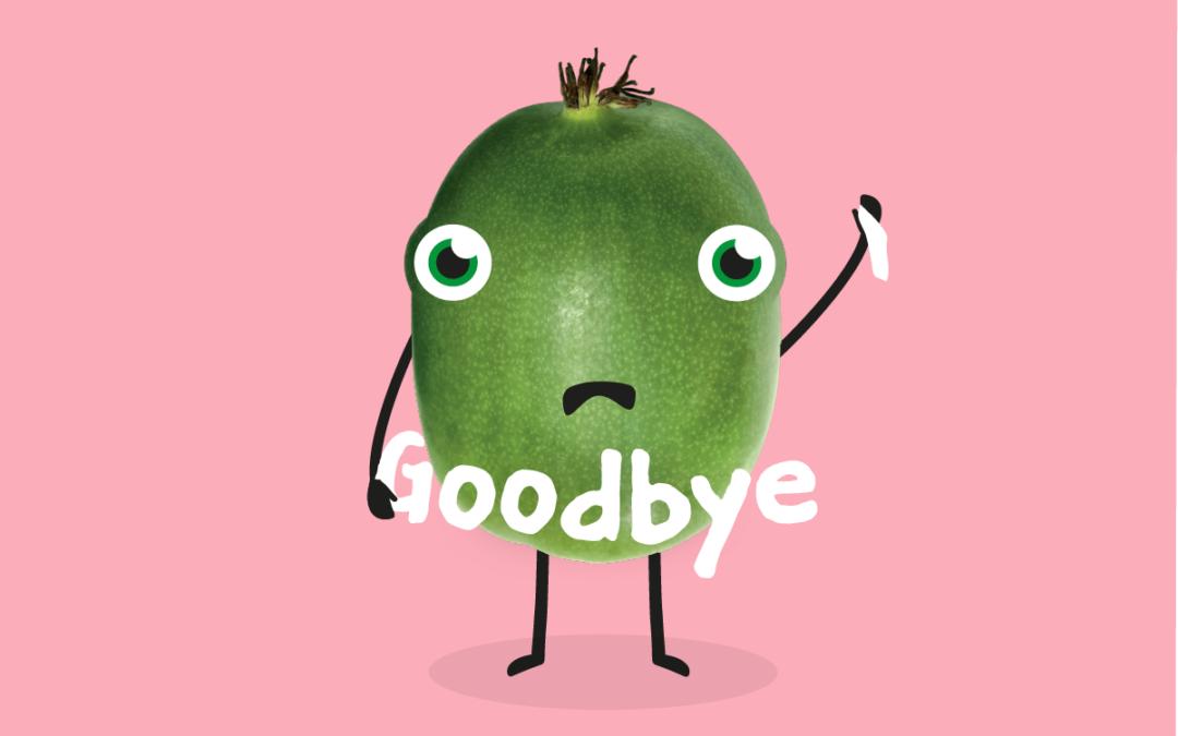 Adiós, ciao, 告别, goodbye!
